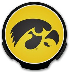 Iowa Hawkeyes Light Up POWERDECAL Z157-9474652887