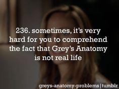 Grey's Anatomy Problems @Jenny Jones  @Julia Tate