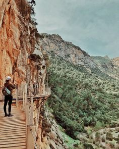 Super spectacular view from Caminito del Rey in Spain! Teodora-Irina Comanita (@teodorally) • Instagram photos and videos