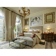 Perfect color for master bedroom, isn't it? Pin it if you love it! #bedroom #interioridea #interiordesign #desaininterior #interior #design #houseidea #beigeinterior #bedroomidea #bedroomdesign #kamartidur #desainkamartidur #chandelier #masterbedroom
