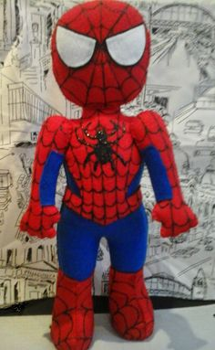 Homem Aranha Feltro - Vanessa Pracanico
