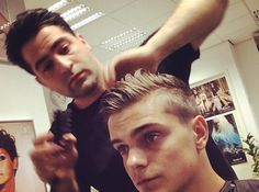 Martin Garrix took a pretty good haircut selfie.