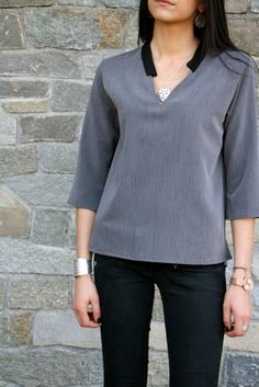 Blouse Chic Birdy by l'atelier d'Alicia