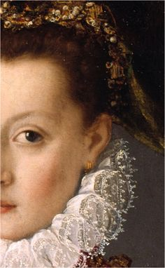 Portrait of woman, 1560 Sofonisba Anguissola, Lázaro Galdeano Museum, Madrid (image obtained here )