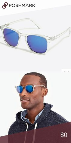 🆕 J. Crew Men's Sunglasses 🆕 NWT 🆕 J. Crew men's crystal framed sunglasses! Enhance your style with these quality made shades! Crystal frame, blue reflective lense and 100% UV protection! Comes with cloth dust bag! J. Crew Accessories Sunglasses