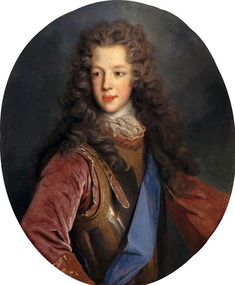 1700 Prince James Francis Edward Stuart by Alexis Simon Belle