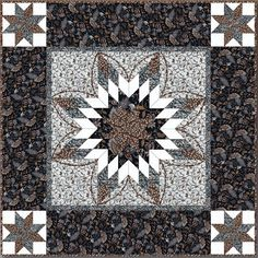 Debby Kratovil Quilts: Very Big Lone Stars