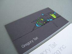 Beautiful architecture business card