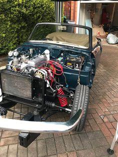 Triumph Spitfire 1500 - Triumph Spitfire, British Sports Cars, Bays, Vintage Cars, Engine, Classic Cars, Monster Trucks, Restoration, Girls