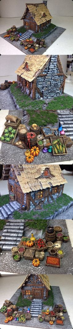 Farmer's Market-Tabletop World
