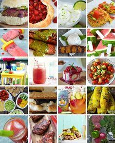 50 Easy Summer Entertaining Ideas #recipes