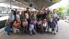 PERIPLOS en Sri Lanka 2016 #viajes  El grupo en la Estación de Tren
