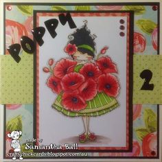 Craftychick Cards: Poppies for Poppy