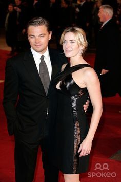Leonardo Dicaprio and Kate Winslet Actors at the Revolutionary Road Film Premiere Kodeon Cinema, West End London 01-18-2009 Photo by Neil Tingle-allstar-Globe Photos
