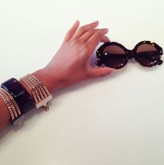 Gogosha Sunglasses, Fashion, Moda, Fashion Styles, Sunnies, Shades, Fashion Illustrations, Eyeglasses, Glasses