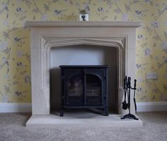 Welcome to Tomlinson Stonecraft - home of bespoke, hand carved natural stone fireplaces & architectural stonemasonry. Sandstone Fireplace, Stone Fireplace Surround, Natural Stone Fireplaces, Pet Headstones, Fireplace Showroom, Natural Stone Backsplash, Portland Stone, Stone Masonry, Garden Furniture