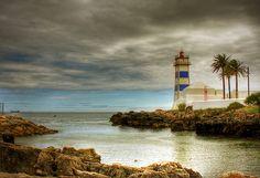 cascais - lighthouse color by riisli, via Flickr