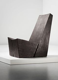 "JIM PARTRIDGE AND LIZ WALMSLEY, ""Wedge Chair Number 1"", 2007"