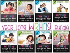 Writing: Writer's Workshop is a wonderful way to incorporate all of the ELA standards while introducing your students to the love of writing. This best practice unit was created by two kindergarten teachers with over 20 years of classroom experience. Classroom tested and student approved. *****************************************************************************This is the Complete Bundled series of monthly units that will walk you through the entire year of writer's workshop.