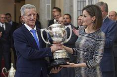 Queen Letizia of Spain Photos - Spanish Royals Deliver National Sports Awards 2014 - Zimbio