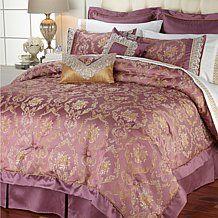 Hutton Wilkinson Floral Opulent 8-piece Comforter Set