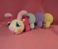 Camilla The Caterpillar by APDesigns on Etsy, $4.50