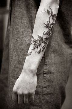 Botanical tatoos EXAMPLE.PL