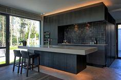 Afbeeldingsresultaat voor donkere keuken #modernkitchendesign