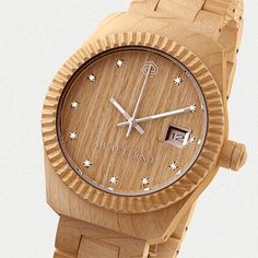 wooden watch ALBA by AB AETERNO  #wood_watch