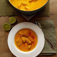 KyllIngsuppe med karri Thai Red Curry, Ethnic Recipes, Food, Red Peppers, Essen, Meals, Yemek, Eten
