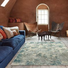 A soft underfoot, viscose cut pile collection with a modern abstract corrosion design available in two colourways and one size only. Hertex Fabrics, Fabric Suppliers, Modern Rugs, Upholstery, Couch, Interior Design, Abstract, Furniture, Collection