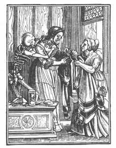 The countess from Hans' Holbien's the Dance of Death, c. 1524. Project Gutenberg,  http://www.gutenberg.org/files/21790/21790-h/21790-h.htm