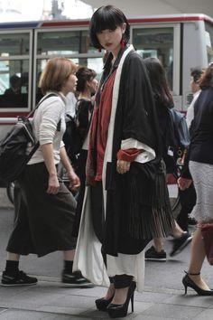 Street style at Tokyo Fashion Week Spring 2017                                                                                                                                                                                 More