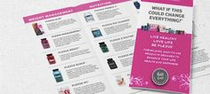 Fancy Plexus Product Brochures with all products listed on the inside. Company info and 5 reasons to join Plexus listed on the outside panel. Made to Order: Customized with your contact information.* Leave the contact info that you want in the design in the Note section at time of purchase.
