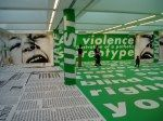 Part of a temporary exhibition was of Barbara Kruger