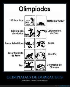 OLIMPIADAS DE BORRACHOS - Así todos los sábados serían olímpicos   Gracias a http://www.cuantarazon.com/   Si quieres leer la noticia completa visita: http://www.estoy-aburrido.com/olimpiadas-de-borrachos-asi-todos-los-sabados-serian-olimpicos/