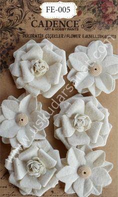 www.uskudarsanat.com Cadence-3D-Dekoratif-Cicekler-FE-005,PR-5375.html