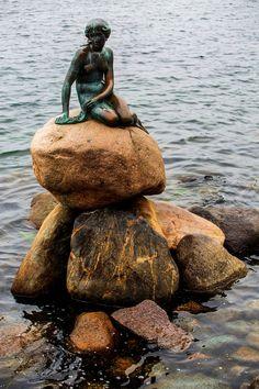 Copenhagen / for the love of nike Little Mermaid Statue, The Little Mermaid, Copenhagen Tourist Attractions, Copenhagen Denmark, Coast, Lens, Bronze, Tours, City