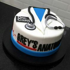 Grey's Anatomy cake