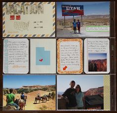 """deb duty {photography + scrapbooking}: project life--like the """"Vacation"""" card & the state card"""