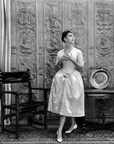 Dress by Castillo for Lanvin, 1957. Photo: Philippe Pottier.