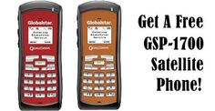 Receive a FREE GSP-1700 Satellite Phone When You Activate a Qualifying Service Plan. http://www.mobilsat.com
