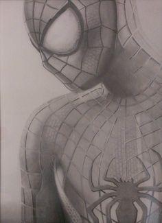 Amazing Spiderman 2 Graphite pencil drawing