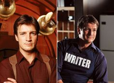 Nathan Fillion: Captain Mal Reynolds and Castle