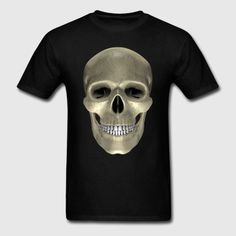 dynamitfrosch at Spreadshirt ✓ Trendy designs on different products ✓ T-shirts hoodies & accessories in many colours ✓ Order your favourite design from dynamitfrosch! Skull, Colours, Mens Tops, T Shirt, Design, Supreme T Shirt, Tee Shirt, Tee