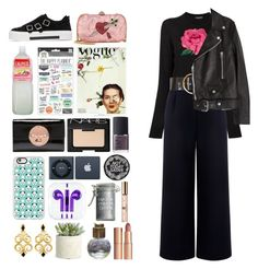 """""""5.440"""" by katrina-yeow ❤ liked on Polyvore featuring Gucci, Dolce&Gabbana, Être Cécile, Roksanda, Acne Studios, Alexander McQueen, NARS Cosmetics, Casetify, Allstate Floral and Evans"""