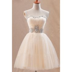 Cute Sweetheary SHort Tulle Homecoming Dress With Crystals ($99) ❤ liked on Polyvore featuring dresses, pink dress, short dresses, short pink dress, short homecoming dresses and tulle homecoming dress