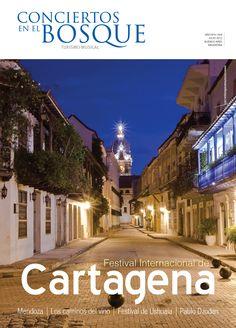 Revista nro. 8 de Conciertos en el Bosque, Turismo Musical. Festival de Cartagena, Colombia.