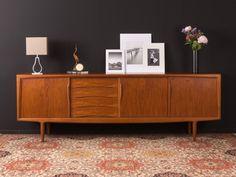 Sold: Danish teak sideboard by Gunni Omann for Axel Christiansen, Decor, Furniture, Teak, Interior, Teak Furniture, Home Decor, Mid Century Furniture, Teak Sideboard, Danish Teak Sideboard