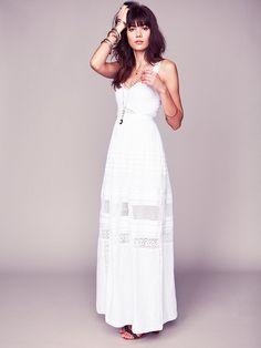 da577ed6cdd7 71 Best beach wedding dresses images   Free people dress, Dress ...
